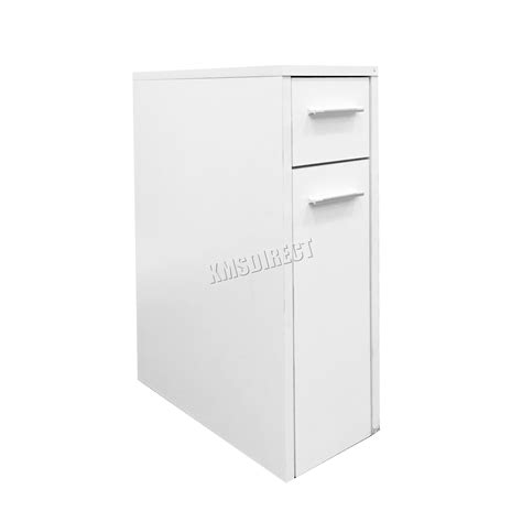 Slim Bathroom Storage Cabinet Foxhunter Bathroom Kitchen Slide Out Storage Drawer Cabinet Slim Cupboard Unit