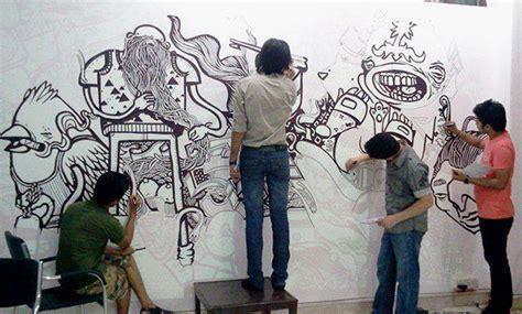 doodle faisal wall wall murals on adweek talent gallery