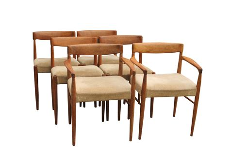 How To Restring A Chair Seat by 6 Teak Niels O Moller Dining Chairs With