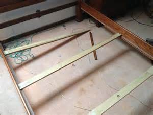 Wooden Bed Frame Replacement Bed Frame Repair Problem Doityourself Community Forums