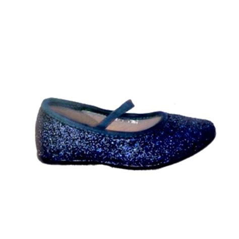 baby blue flats shoes sparkly glitter ballet flats shoes flower baby