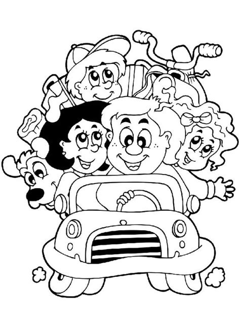 preschool coloring pages about families top 10 free printable family coloring pages online ties