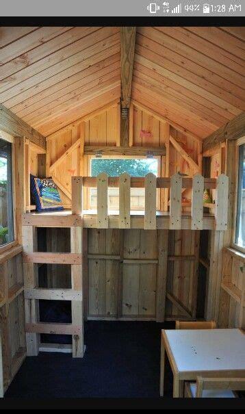 loft  pallet playhouse play houses pallet playhouse