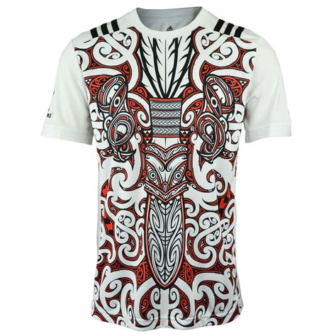 design t shirt rugby new zealand maori all black rugby t shirt 2017 18 white