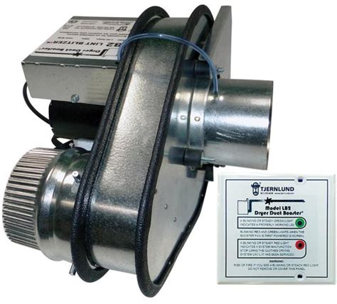air duct booster fan with pressure switch the lint blitzer ul 705 listed dryer duct booster fan