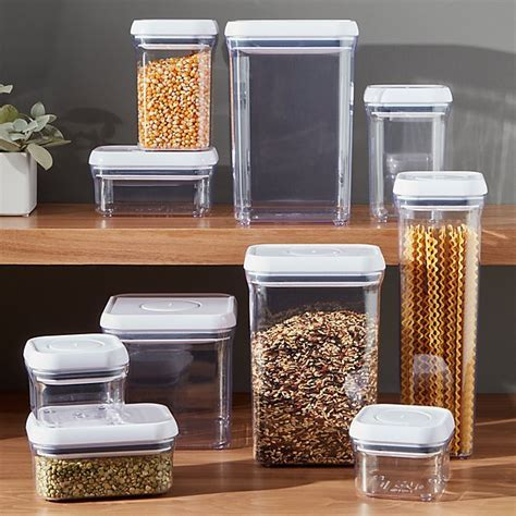 OXO Pop Containers   Crate and Barrel