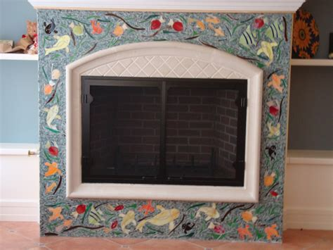 Fireplace Mosaic by Fireplace Mosaic By