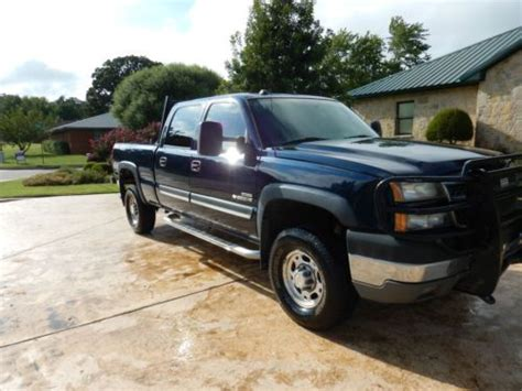 automobile air conditioning repair 2005 chevrolet silverado 2500 transmission control find used 2005 chevy 2500hd diesel blue crew cab 4x4 w headache rack brush guard more in