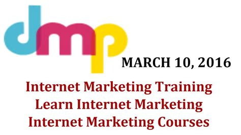 Marketing Classes by Marketing Learn Marketing