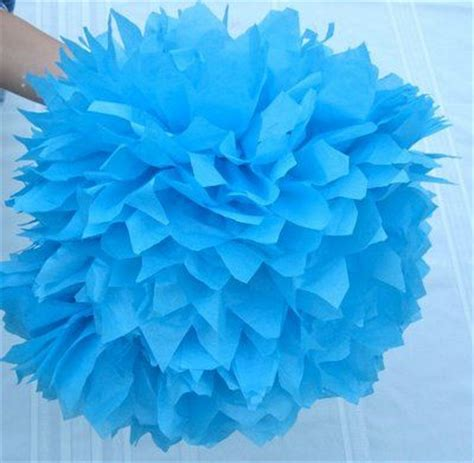 How To Make Large Tissue Paper Flower Balls - the world s catalog of ideas