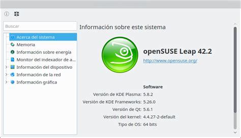 Linux Opensuse 42 Leap 64 Bit opensuse leap 42 2 un camale 243 n comunitario con
