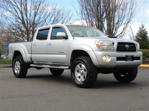 toyota tacoma double cab long bed 2007 toyota tacoma v6 double cab 4wd long bed trd