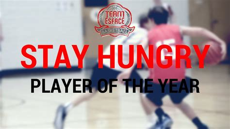 run strong stay hungry 9 to staying in the race books team esface stay hungry player of the year luke bidinost
