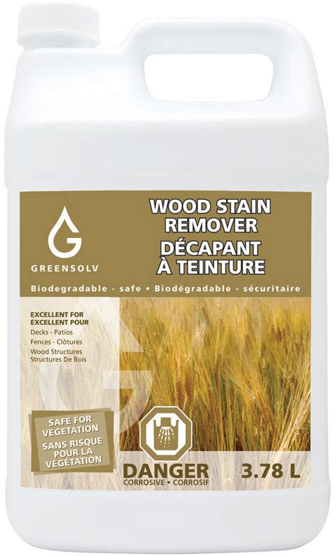 wood stain remover greensolv inc environmental products