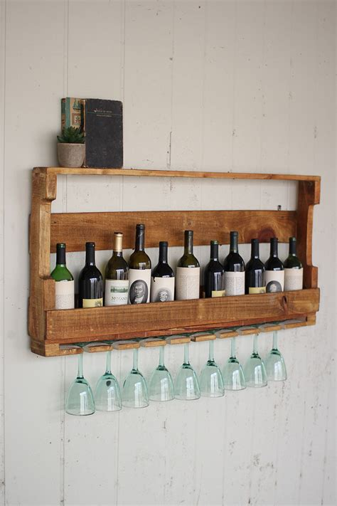 Pallett Wine Rack by Recycled Pallet Wine Rack