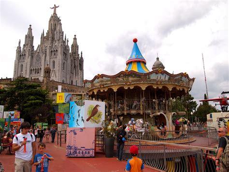 theme park near barcelona temple expiatori del sagrat cor and tibidabo amusement par