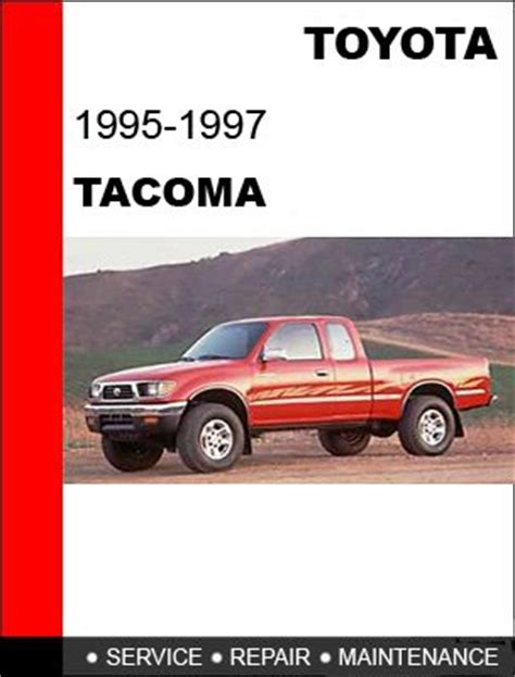 where to buy car manuals 1995 toyota tacoma xtra free book repair manuals 1995 1996 1997 toyota tacoma service repair manual cd