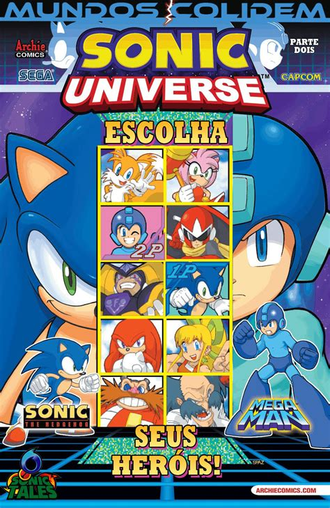 sonic tales crossover sonic  megaman parte