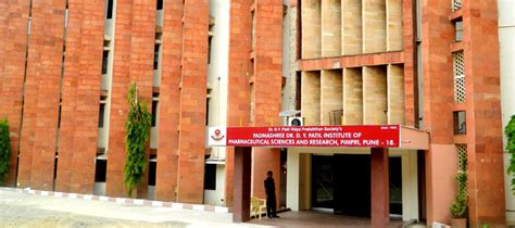 Dy Patil Pimpri Mba Fees by Dr D Y Patil Institute Of Pharmaceutical Sciences And