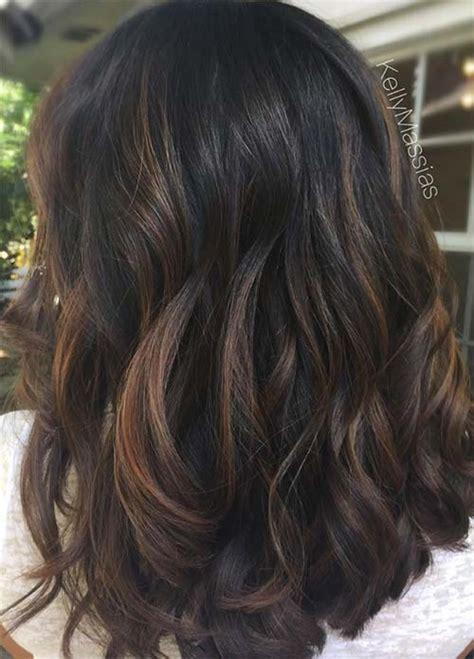 low lights on black shoulder length hair 100 dark hair colors black brown red dark blonde