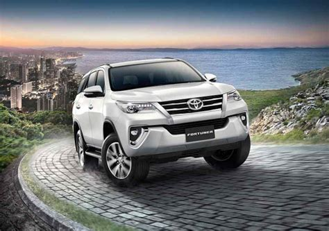 toyota 4wd models 2018 toyota fortuner gets refreshed 4wd for 2 4l models