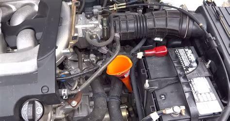 Honda Odyssey Transmission Fluid Change honda accord how to check transmission fluid honda tech