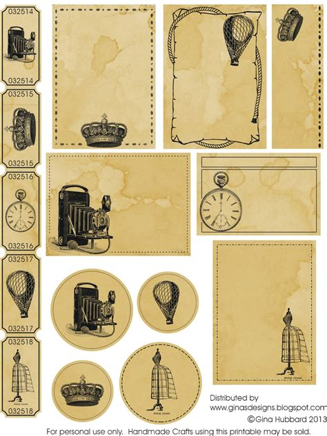 printable images vintage ginas designs another vintage freebie friday