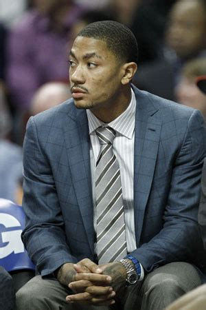 derrick rose on bench and the winner of our second annual nba predict the future