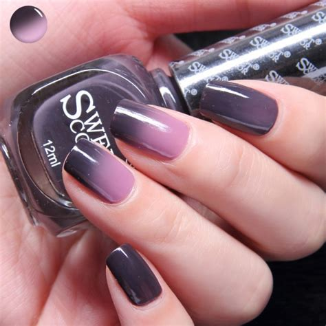 Ongle Couleur by Vernis 224 Ongles Couleurs Changeantes Aubergine Mauve St04
