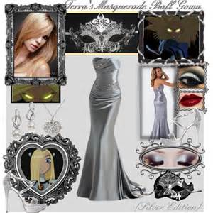 Home Decor Picture Frames by T T Terra S Masquerade Ball Gown Set 4 Silver Villain