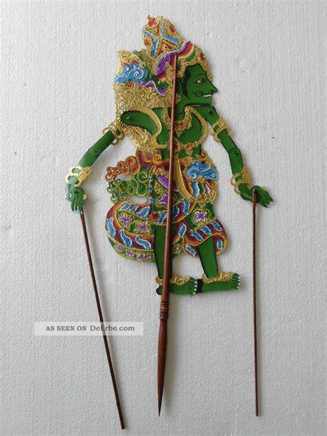schattenspielfigur wayang kulit aus indonesien nms26 - Möbel Aus Indonesien