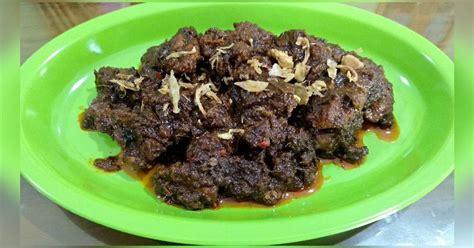 resep bumbu rendang daging indofood instan enak