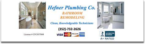 Dunnellon Plumbing by Bathroom Remodeling Hefner Plumbing