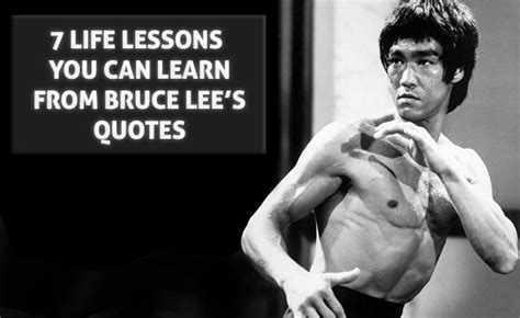 biography about bruce lee 7 life lessons you can learn from bruce lee s quotes