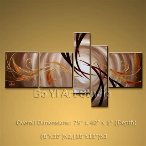 modern abstract canvas wall modern abstract painting wall set on canvas framed