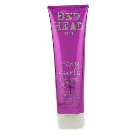 bed head makeup tigi bed head foxy curls frizz fighting sulfate free