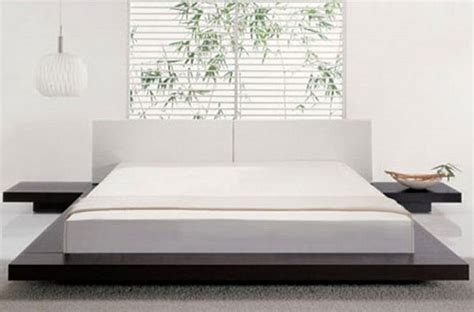 modern style beds easy to build diy platform bed designs