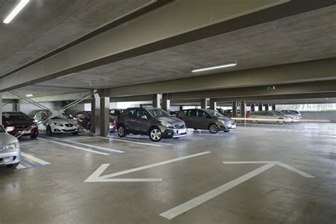 Size Of A 2 Car Garage by Gallery Of Velenje Car Park Enota 29
