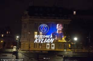 home daily mail germain welcome kylian mbappe home daily