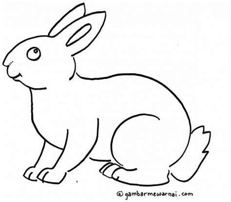 tutorial gambar hewan untuk anak gambar mewarnai kelinci h pinterest 20 gambar hewan