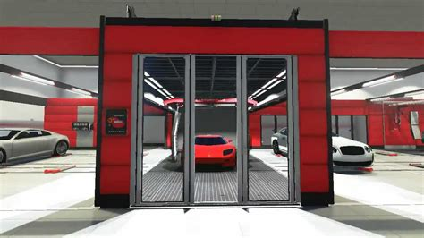 layout car repair workshop 3d walkthrough automotive repair facility youtube
