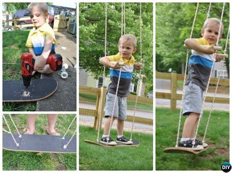 diy kids swing diy outdoor kid swing ideas projects picture instructions