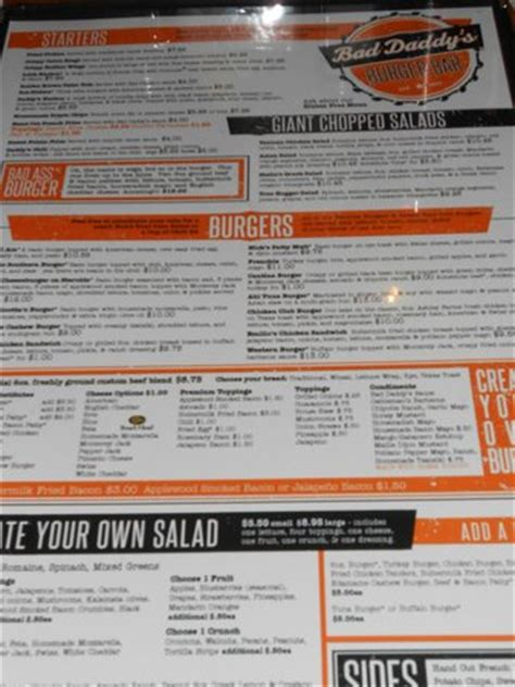 Bad Daddy S Burger Bar Gift Cards - shakes shakes shakes picture of bad daddy s burger bar raleigh tripadvisor