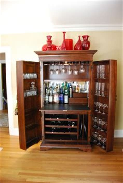 Armoire Bar Cabinet by 1000 Images About Armoire Bar Ideas On
