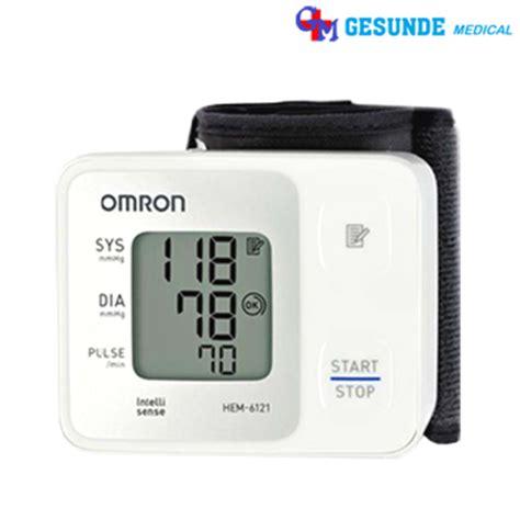 Alat Pengukur Tekanan Darah Otomatis Alat Ukur Tekanan Darah Omron Hem 6121 Tensimeter Omron