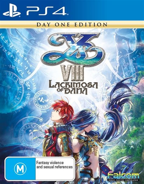 Kaset Ps4 Ys Viii Lacrimosa Of Day One Edition ys viii lacrimosa of day one edition playstation 4 the gamesmen
