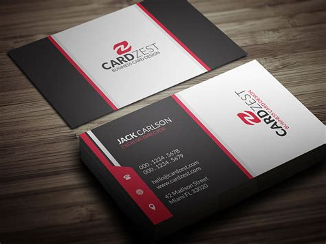 professional business cards templates free free professional business card template by mengloong on
