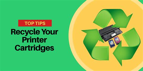 7 Tips On Recycling by Simple Tips To Recycle Your Printer Cartridges Toner