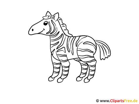 malvorlagen fuer kleinkinder zebra