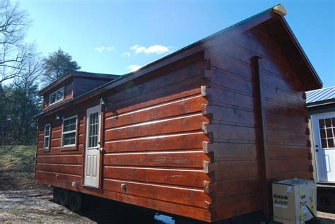Model Log Cabin by 30 X 12 Cutter Park Model Log Cabin Mountain
